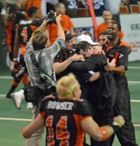 Erie Explosion cap 12-0 season with League Championship